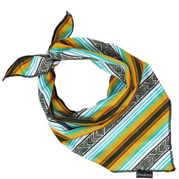 Frenchiestore Dog Cooling Bandana | Mexican Blanket