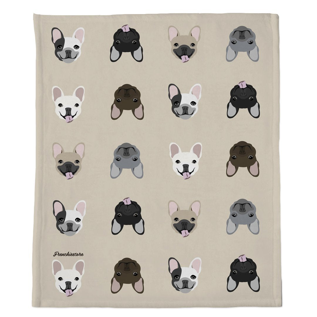 Frenchie Blanket | Frenchiestore | Mezcla de bulldog francés