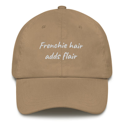 Frenchie hair adds flair | Frenchiestore Embroidered Hat