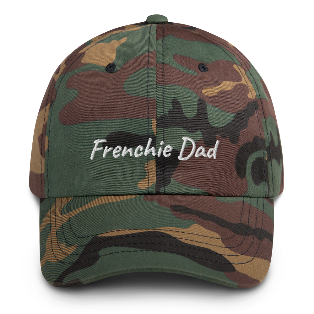 Frenchie Dad | Cappello ricamato Frenchiestore