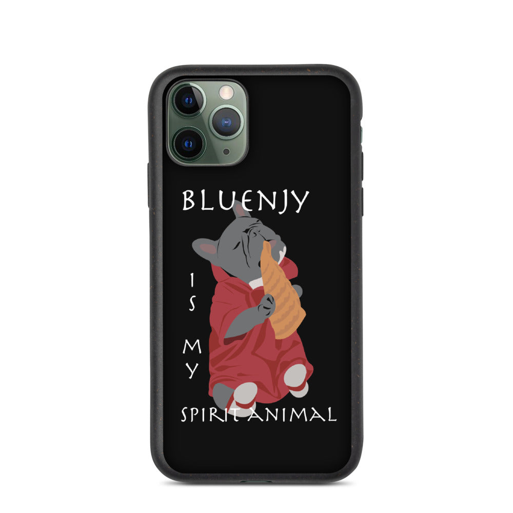 Bluenjy is My Spirit Animal | Frenchiestore Biodegradable phone case