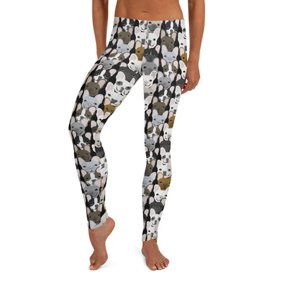Leggings con motivo Bulldog francese