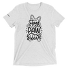 Stay Pawsitive Frenchie Tee | Camiseta unisex Frenchiestore