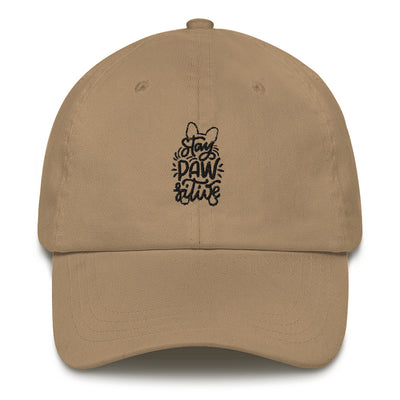 Stay Pawsitive | Frenchiestore Embroidered Hat