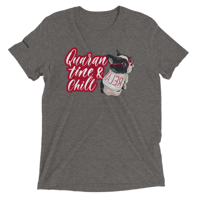 Quarantine and chill French Bulldog Shirt