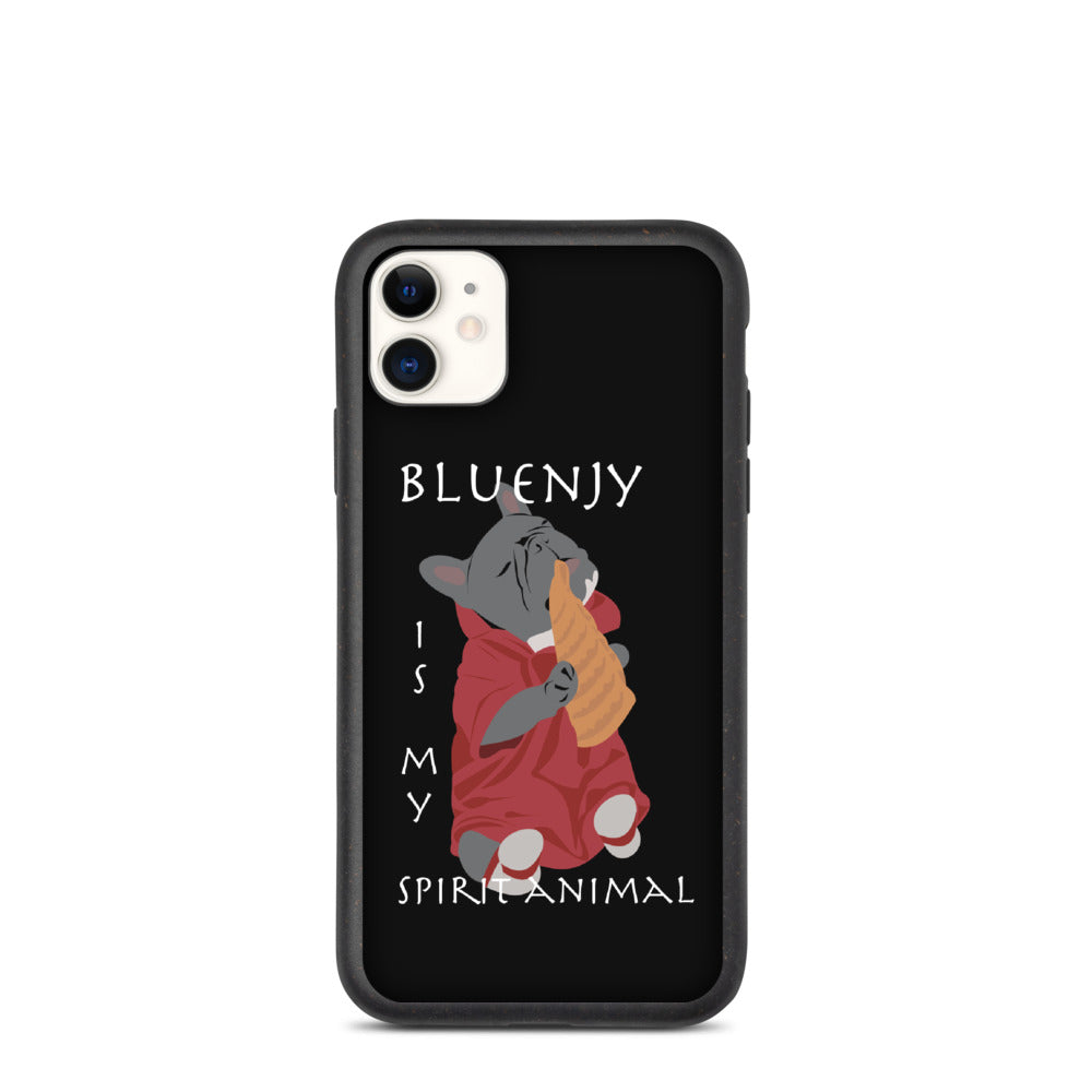 Bluenjy es mi espíritu animal | Funda para teléfono biodegradable Frenchiestore