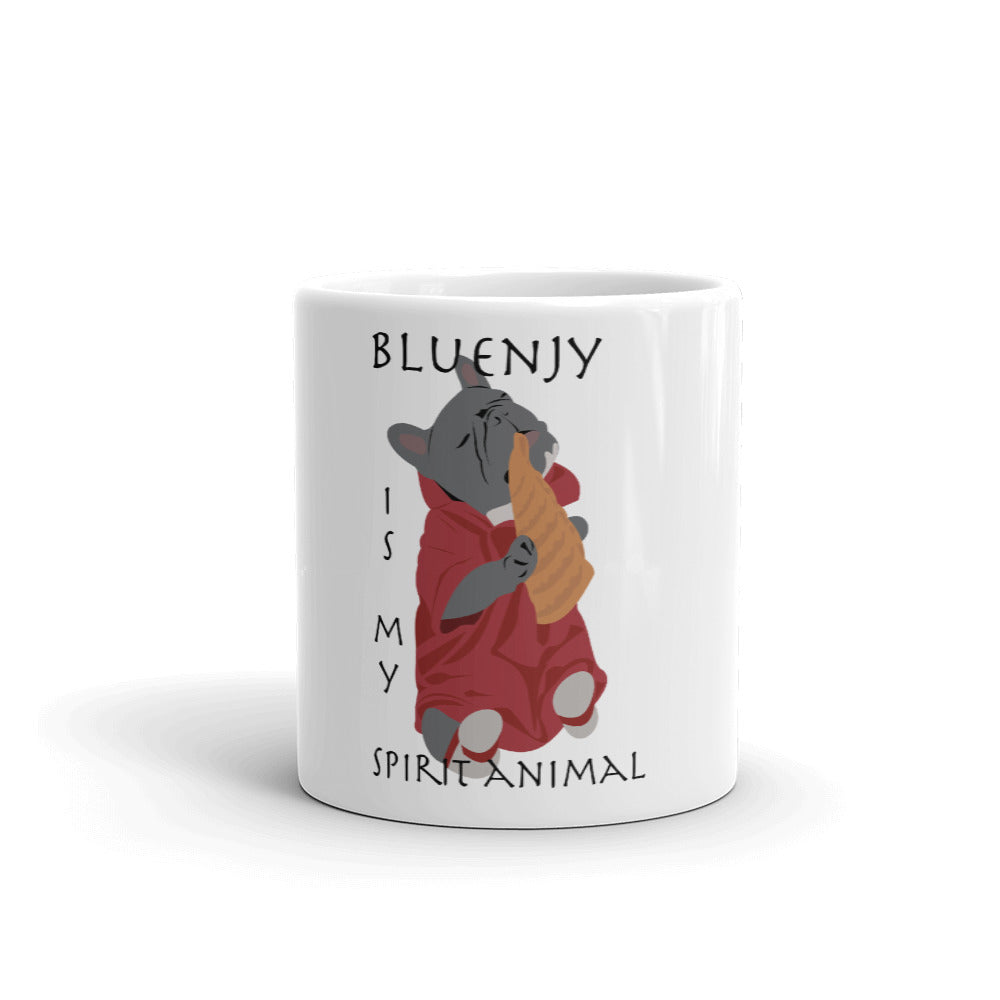 Bluenjy is My Spirit Animal | Frenchiestore Mug, Frenchie Dog, French Bulldog pet products
