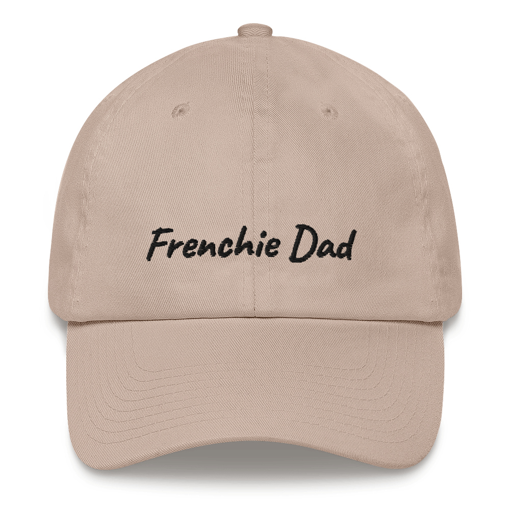 Frenchie Dad | Frenchiestore Embroidered Hat, Frenchie Dog, French Bulldog pet products