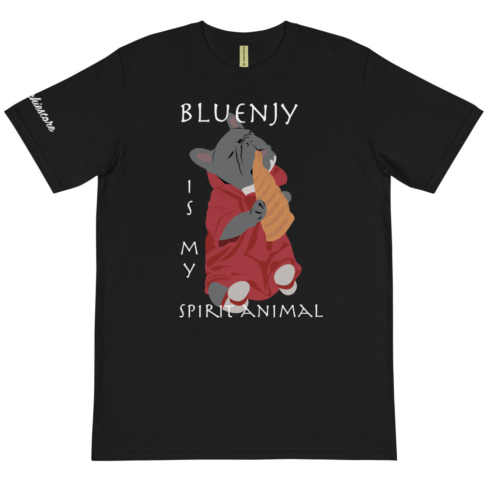 Bluenjy is My Spirit Animal | Organic T-Shirt | Frenchiestore