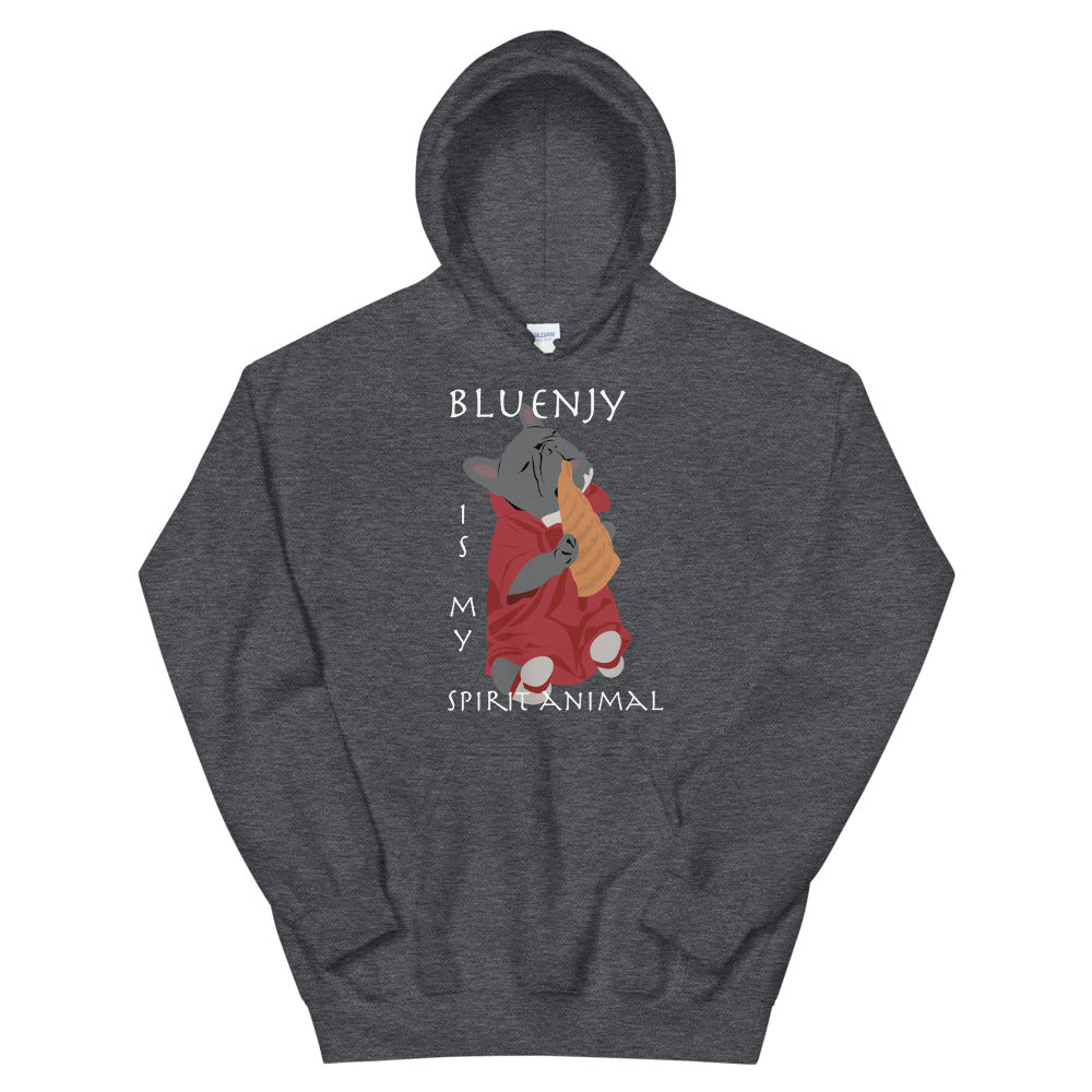 Bluenjy is My Spirit Animal | Frenchiestore Unisex Hoodie