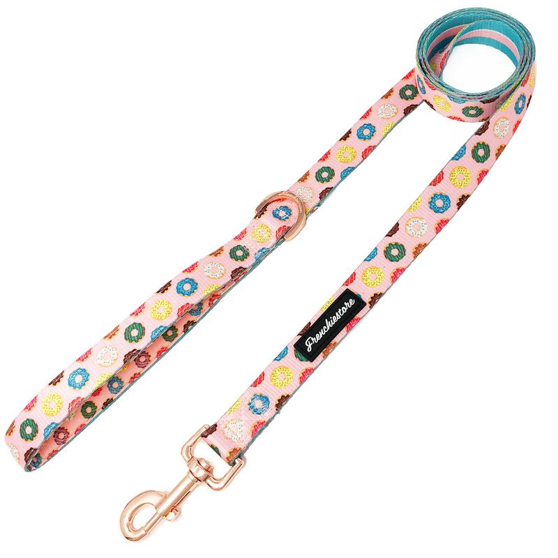 Luxury Leash | Pink StarPup, Frenchie Dog, French Bulldog pet products