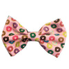 Frenchiestore chien animal de compagnie Bowtie noeud papillon rose