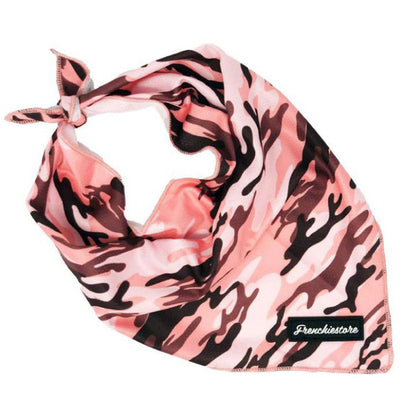 Frenchiestore Dog Cooling Бандана | Pink Ultimate Camo