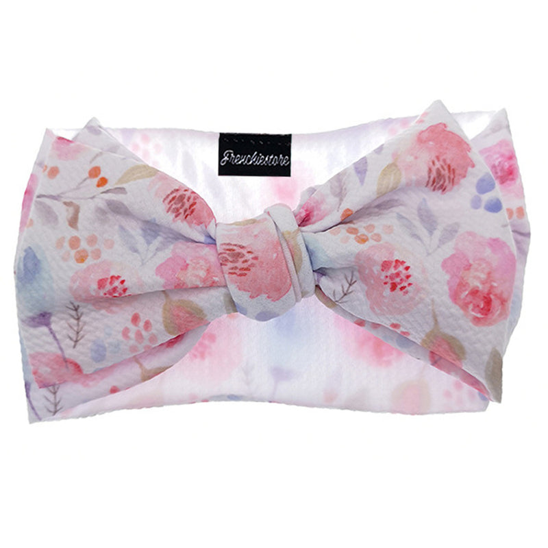 Frenchiestore Pet Head Bow | Pink Blush