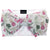 Frenchiestore Pet Head Bow | Rosa Flamingo