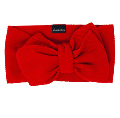 Frenchiestore Pet Head Bow | Red