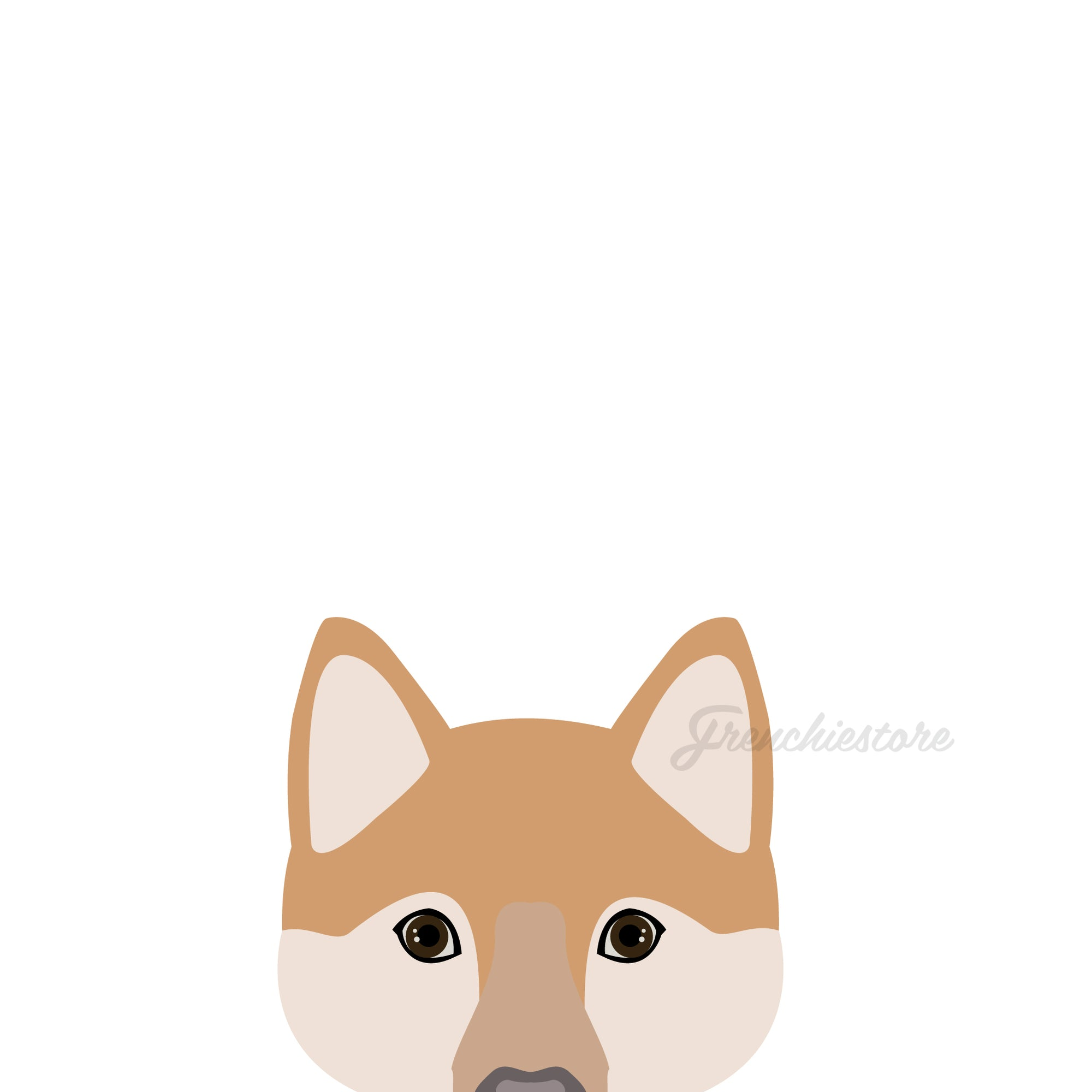 Shiba Inu Dog Sticker | Frenchiestore |  Shiba Inu Car Decal, Frenchie Dog, French Bulldog pet products