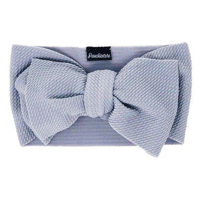 Frenchiestore Pet Head Bow | Silber