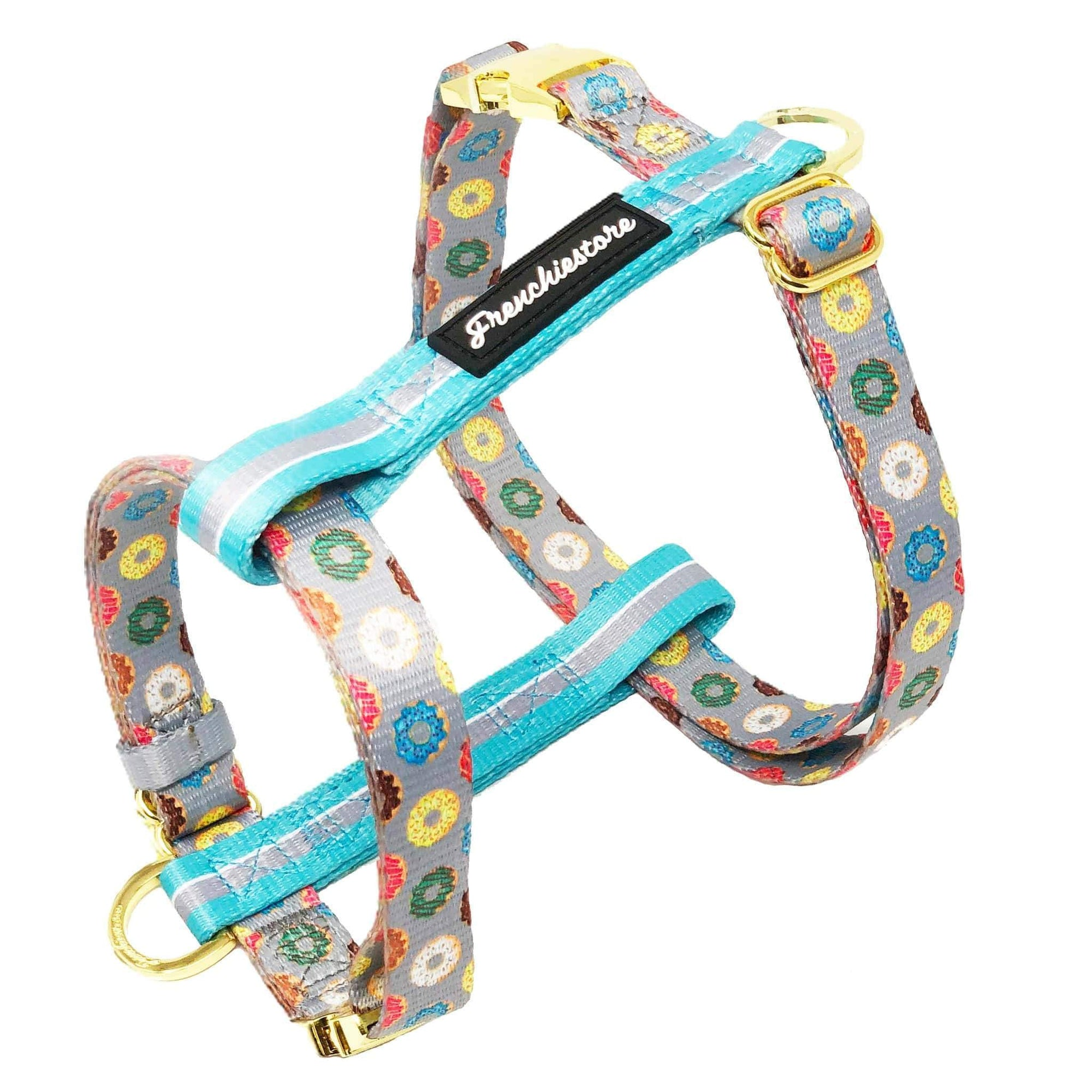 Frenchiestore Adjustable Health Harness | Mint StarPup