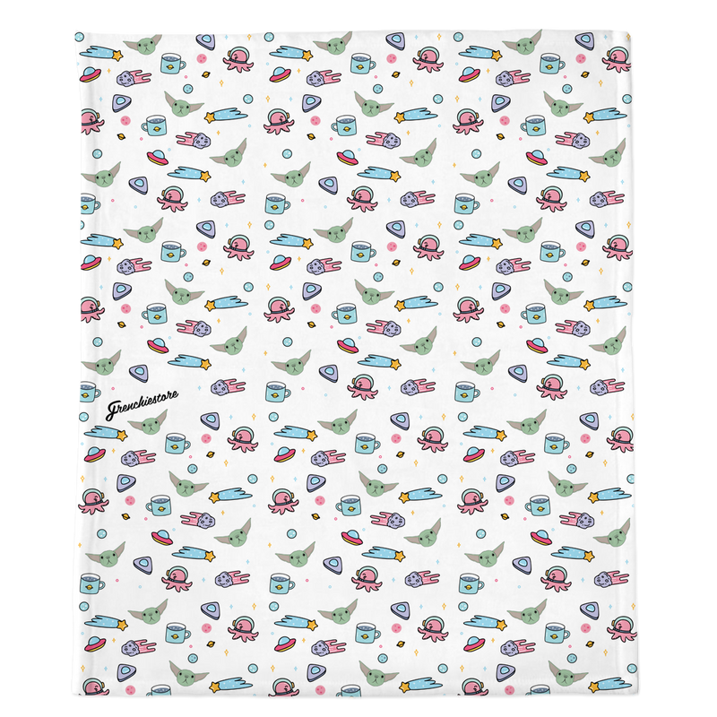 Couverture Frenchie | Frenchiestore | L'enfant sur blanc