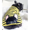 Frenchie Shirt | Frenchiestore | Black French Bulldog in Bumblebee