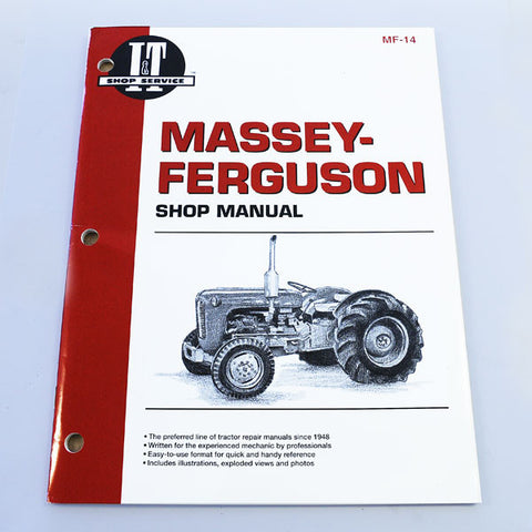 Massey Ferguson MF-14 SHOP MANUAL 35