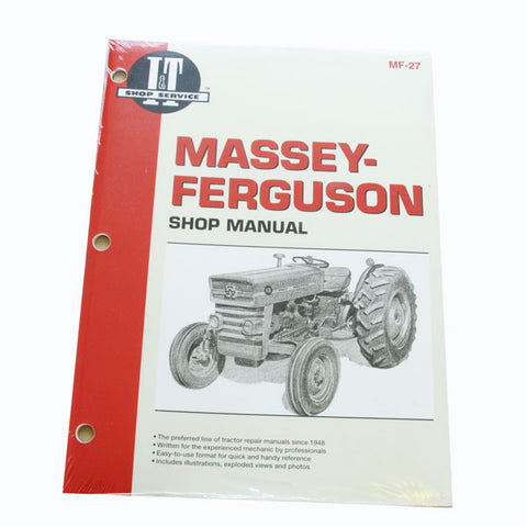 Massey Ferguson MF-27 SHOP MANUAL 135 165
