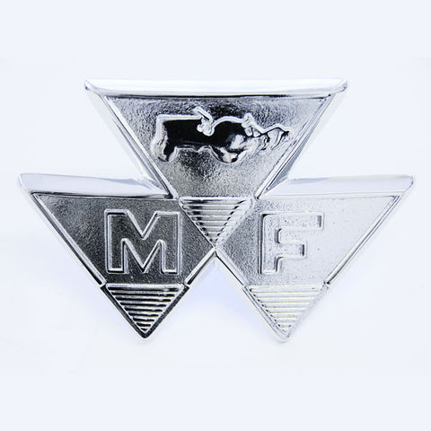 BONNET CHROME BADGE MF35