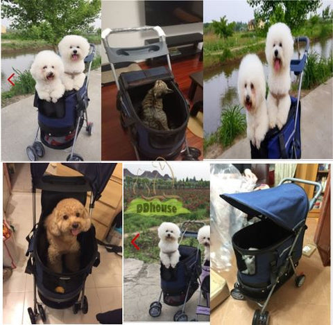Multifunctional Pet Strollers in Singapore , Detachable Cage