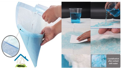 Ultra Absorbent Odor Control Pet Sheet Pee Pad Singapore