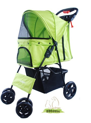 4 Wheeler Pet Stroller - DDhouse Online Pet Supplies
