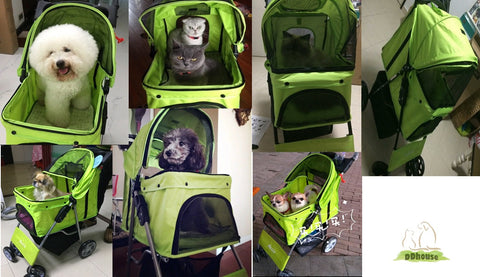 DDhouse Online Pet Supplies - 4 Wheeler Pram