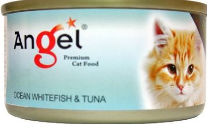 Angel Ocean Whitefish & Tuna 80g
