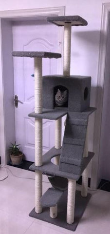 180cm tall Cat Tree Extreme Tall