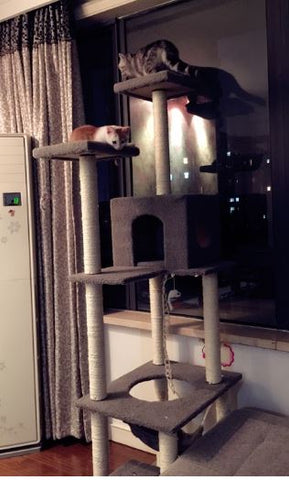 Extreme Tall 180cm Height Cat Tower