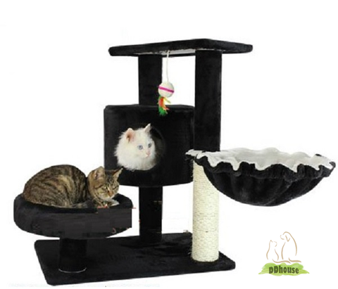 Charcoal Color Cat Scratching Post - DDhouse