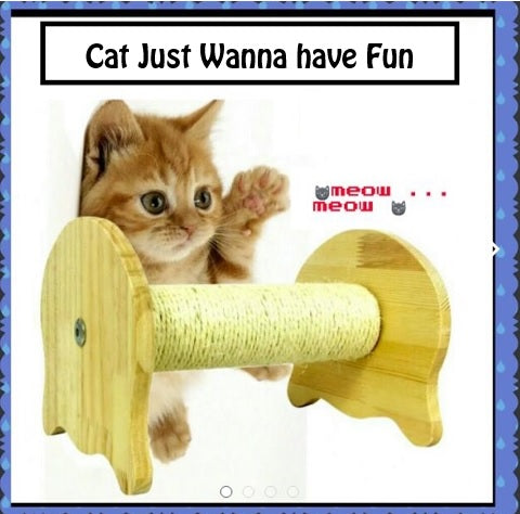 Scratch Post/Cat Post/Scratching Post/Cats Playhouse/Cat Condo/Playhouse with Scratching Post/Cat House