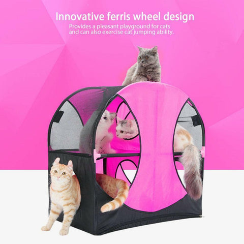 Sport Pet (Cat's wheel of fun tent)