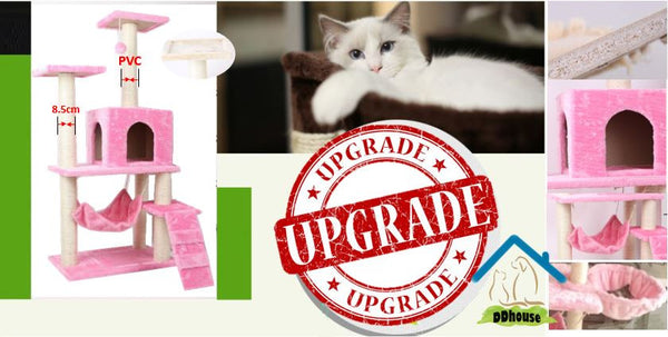Imporved Version PVC Cat Climber Cat Condos - DDhouse Singapore Online Pet Supplies and Pet Products