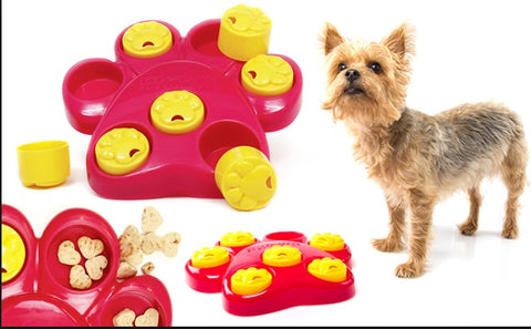 Kyjen Paw Hide Outward Hound Dog Game Treat Toy Dog Toys Scent Puzzle Training Toy IQ Dog Game