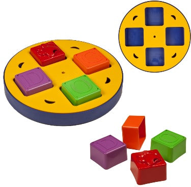 Kyjen Doggy Blocks Spinner Outward Hound Doggy Block Spinner Dog Puzzle IQ games Singapore
