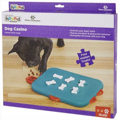 Dog Casino Food Feeder Toys Slow Feeder for Pet Treasure Hunt Educational Slow Feeding Interactive Puzzle Training Toy