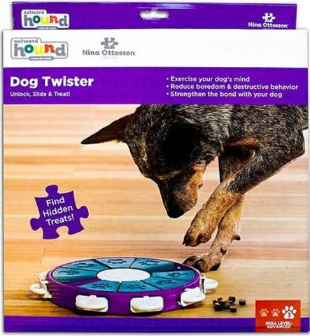 Dog Twister HELPS REDUCE BEHAVIOR AND WEIGHT PROBLEMS