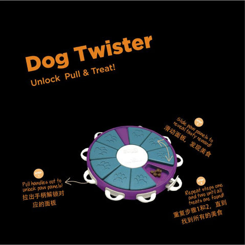 Dog Twister Dog Toy interactive Toy for Dogs