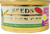 Seeds GoldenCat Tuna/ Chicken & Shirasu 80g