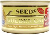 Seeds Golden Cat Tuna/ Chicken & Cheese 80g