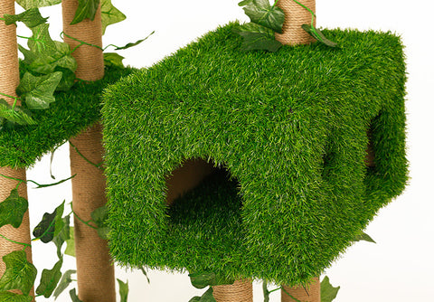 Artificial Grass Cat Tree Singapore In Stock