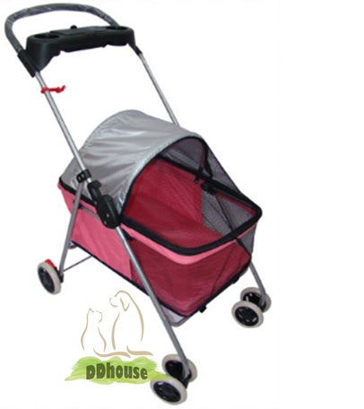 Pinky Light weight 4 wheel Pram
