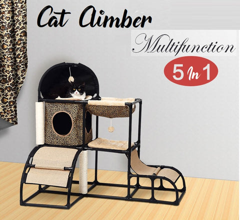 Cat Play Center Cat House Cat Condos Cat Nest Tent for kittens Singapore Seller
