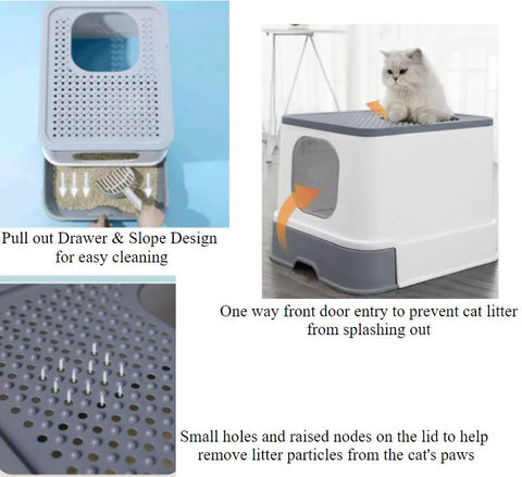 Mouse over image to zoom Move over photo to zoom   thumbnail 1 - ENCLOSED LARGE HOODED CAT LITTER TRAY BOX PET TOILET WITH DOOR FILTER PORTABLE  thumbnail 2 - ENCLOSED LARGE HOODED CAT LITTER TRAY BOX PET TOILET WITH DOOR FILTER PORTABLE  thumbnail 3 - ENCLOSED LARGE HOODED CAT LITTER TRAY BOX PET TOILET WITH DOOR FILTER PORTABLE  thumbnail 4 - ENCLOSED LARGE HOODED CAT LITTER TRAY BOX PET TOILET WITH DOOR FILTER PORTABLE  thumbnail 5 - ENCLOSED LARGE HOODED CAT LITTER TRAY BOX PET TOILET WITH DOOR FILTER PORTABLE  thumbnail 6 - ENCLOSED LARGE HOODED CAT LITTER TRAY BOX PET TOILET WITH DOOR FILTER PORTABLE  thumbnail 7 - ENCLOSED LARGE HOODED CAT LITTER TRAY BOX PET TOILET WITH DOOR FILTER PORTABLE  thumbnail 8 - ENCLOSED LARGE HOODED CAT LITTER TRAY BOX PET TOILET WITH DOOR FILTER PORTABLE  thumbnail 9 - ENCLOSED LARGE HOODED CAT LITTER TRAY BOX PET TOILET WITH DOOR FILTER PORTABLE  thumbnail 10 - ENCLOSED LARGE HOODED CAT LITTER TRAY BOX PET TOILET WITH DOOR FILTER PORTABLE  thumbnail 11 - ENCLOSED LARGE HOODED CAT LITTER TRAY BOX PET TOILET WITH DOOR FILTER PORTABLE  thumbnail 12 - ENCLOSED LARGE HOODED CAT LITTER TRAY BOX PET TOILET WITH DOOR FILTER PORTABLE  thumbnail 13 - ENCLOSED LARGE HOODED CAT LITTER TRAY BOX PET TOILET WITH DOOR FILTER PORTABLE  thumbnail 14 - ENCLOSED LARGE HOODED CAT LITTER TRAY BOX PET TOILET WITH DOOR FILTER PORTABLE  thumbnail 15 - ENCLOSED LARGE HOODED CAT LITTER TRAY BOX PET TOILET WITH DOOR FILTER PORTABLE  thumbnail 16 - ENCLOSED LARGE HOODED CAT LITTER TRAY BOX PET TOILET WITH DOOR FILTER PORTABLE  thumbnail 17 - ENCLOSED LARGE HOODED CAT LITTER TRAY BOX PET TOILET WITH DOOR FILTER PORTABLE  thumbnail 18 - ENCLOSED LARGE HOODED CAT LITTER TRAY BOX PET TOILET WITH DOOR FILTER PORTABLE  thumbnail 19 - ENCLOSED LARGE HOODED CAT LITTER TRAY BOX PET TOILET WITH DOOR FILTER PORTABLE  thumbnail 20 - ENCLOSED LARGE HOODED CAT LITTER TRAY BOX PET TOILET WITH DOOR FILTER PORTABLE  thumbnail 21 - ENCLOSED LARGE HOODED CAT LITTER TRAY BOX P